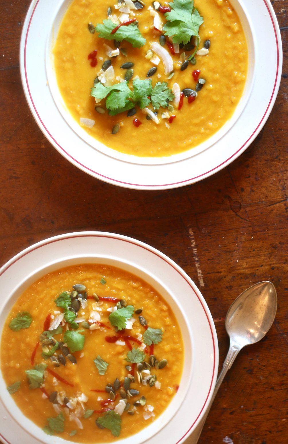 morot och linssoppa