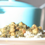 Kokosmjölksgryta med kikärtor