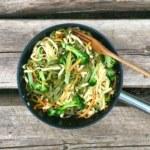 Fredriks pasta med morötter och broccoli