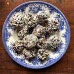 Veganska (och cheap) chokladbollar