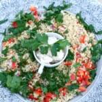 Tabbouleh med vit bönröra