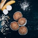 Bananmuffins- perfekta som mellanmål