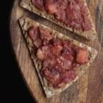 Solrostahini och äppelkompottsknäcke