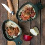 Risgrynsgröt med äppelkompott