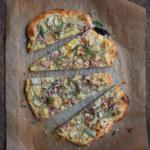 Pizza med jordärtskocka
