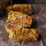 Grönsaksbars med jalapeno och majs